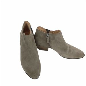Caslon Suede Brown Ankle Boots size 7.5